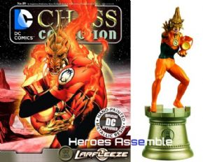 DC Chess Figurine Collection #89 Larfleeze Forever Evil Eaglemoss